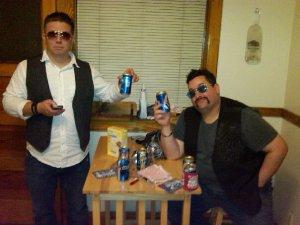 We're sober